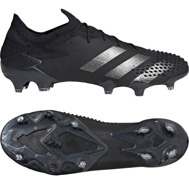 プレデター 20.1 L FG コアブラック×シルバーメタリック 【adidas|アディダス】サッカースパイクef2205