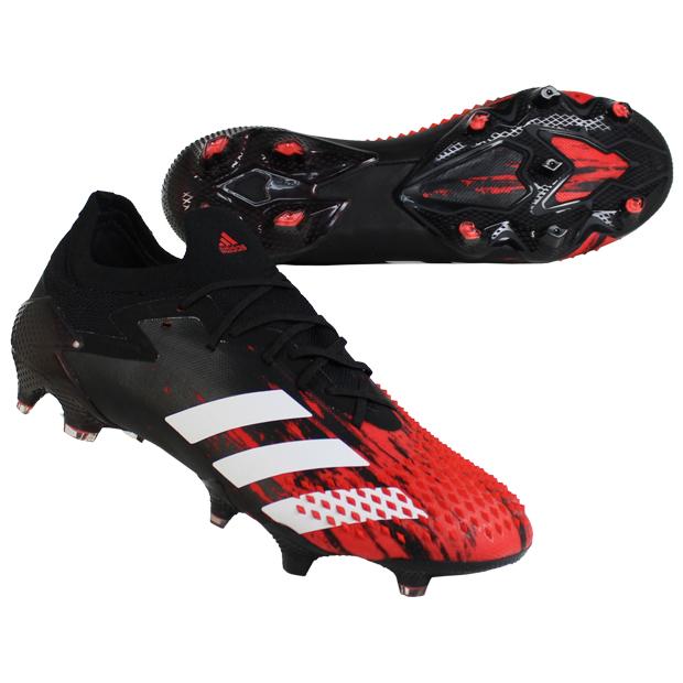 プレデター 20.1 L FG コアブラック×フットウェアホワイト 【adidas|アディダス】サッカースパイクef2206