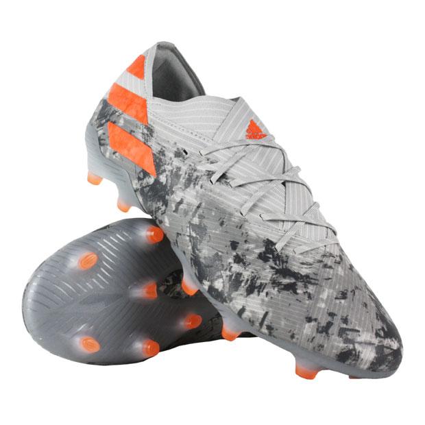 ネメシス 19.1 FG グレーTWO F17×ソーラーオレンジ 【adidas|アディダス】サッカースパイクef8281