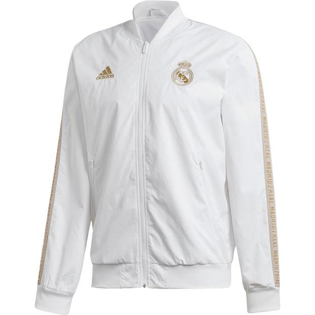 レアルマドリッド アンセムジャケット ホワイト 【adidas|アディダス】クラブチームウェアーfwt62-dx8695