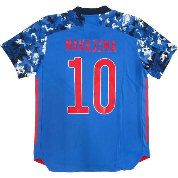 サッカー日本代表 2020 ホーム オーセンティック ユニフォーム 半袖 ed7371 【adidas|アディダス】サッカー日本代表レプリカウェアーgem32-10-nakajima