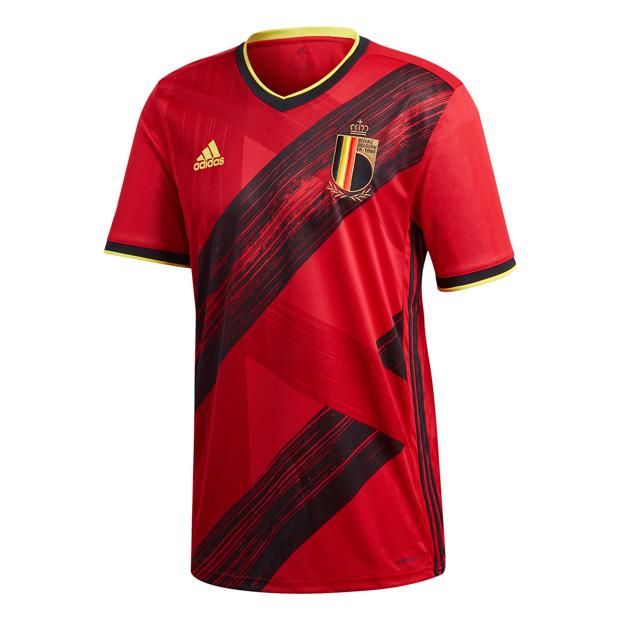 ベルギー代表 2020 ホーム 半袖レプリカユニフォーム 【adidas|アディダス】ナショナルチームレプリカウェアーghw83-ej8546