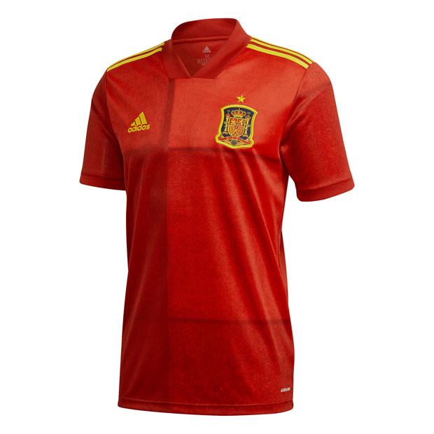 スペイン代表 2020 ホーム 半袖レプリカユニフォーム 【adidas|アディダス】ナショナルチームレプリカウェアーkcm79-fr8361