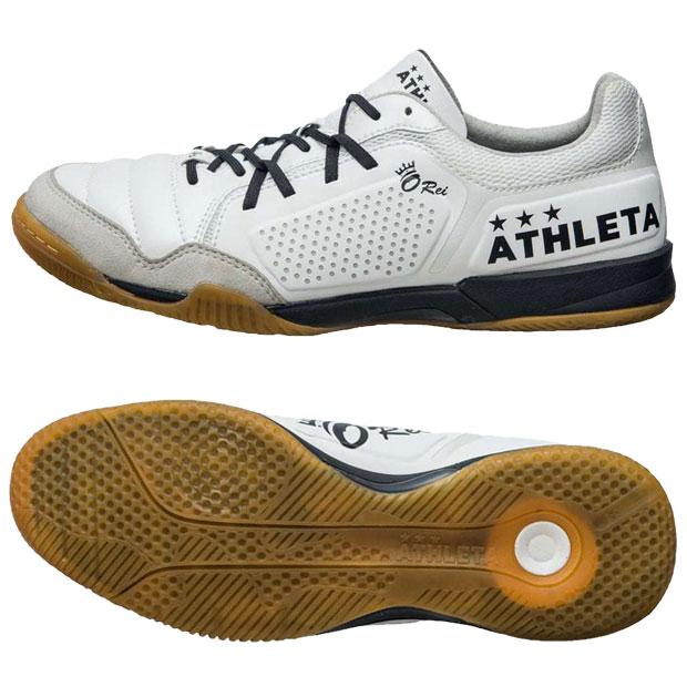 O-Rei Futsal Rodrigo Pホワイト×ブラック 【ATHLETA|アスレタ】フットサルシューズ11011-pweblk