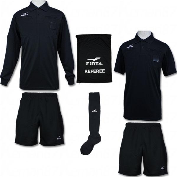 レフリー4点セット 【FINTA フィンタ】サッカーフットサルウェアーft6511