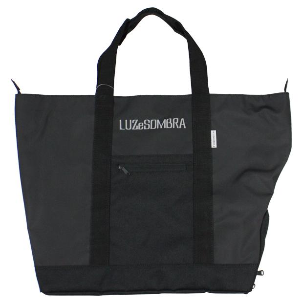 LUZ ターポリントートバッグ ブラック 【LUZ e SOMBRA ルースイソンブラ】サッカーフットサルバッグf1914706-blk