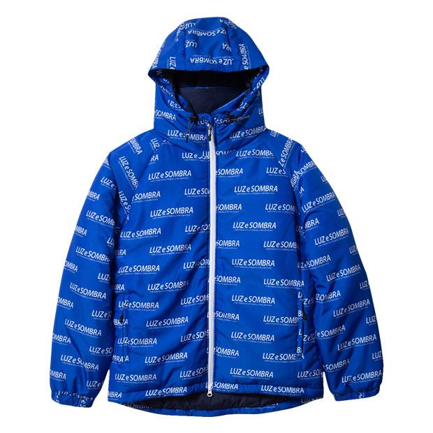 DEVELOP ONE'S インナーコットンジャケット ブルー 【LUZ e SOMBRA|ルースイソンブラ】サッカーフットサル防寒ウェアーo1911205-blu
