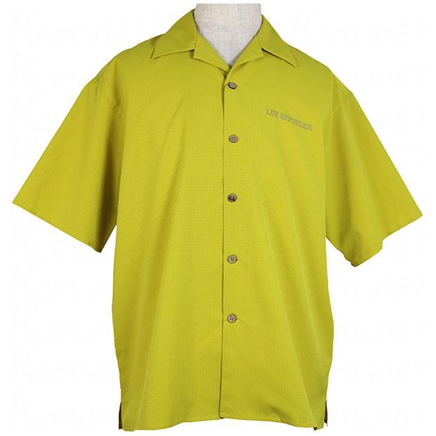 PART OF I オープンカラーシャツ イエロー 【LUZ e SOMBRA|ルースイソンブラ】サッカーフットサルウェアーo2012101-yel