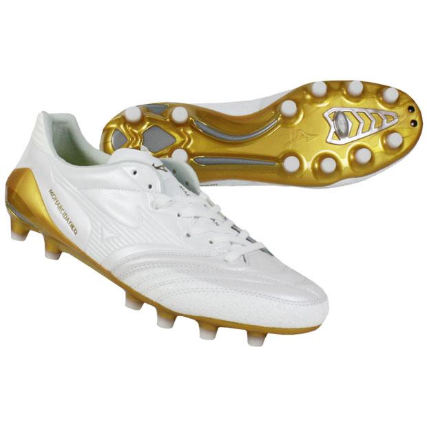 モナルシーダ NEO JAPAN ホワイト×ゴールド 【MIZUNO|ミズノ】サッカースパイクp1ga202001