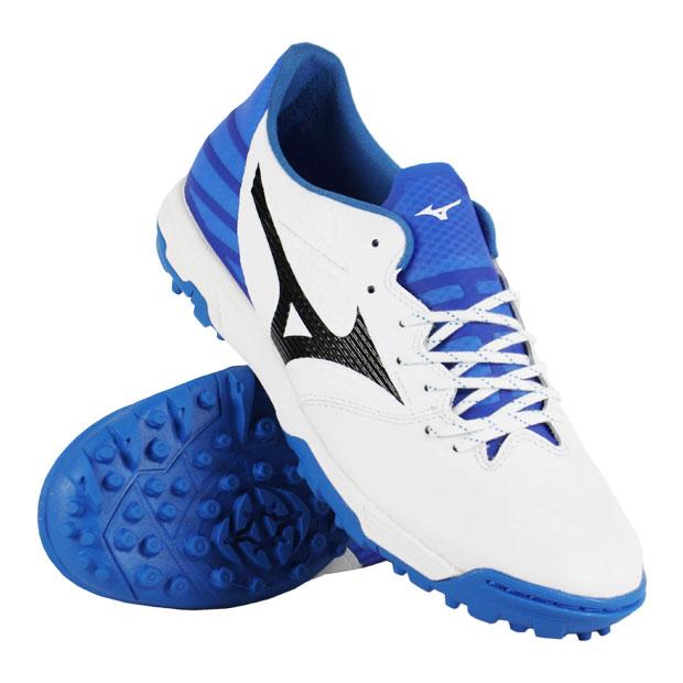 レビュラ 3 ELITE AS ホワイト×ブラック×ブルー 【MIZUNO|ミズノ】サッカートレーニングシューズp1gd196209