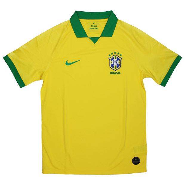ブラジル代表 2019 ホーム 半袖レプリカユニフォーム 【NIKE|ナイキ】ナショナルチームレプリカウェアーaj5026-750