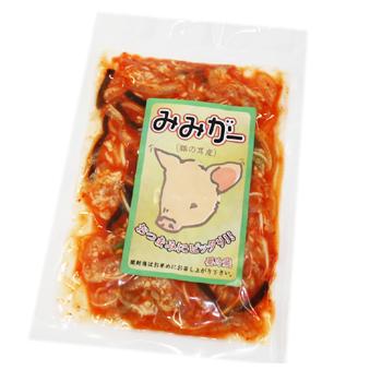 驚きの値段 コリコリとした食感がたまらない 日本正規品 ミミガー 100g キムチ