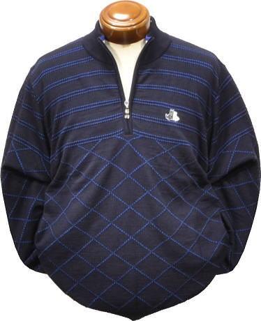【送料無料】ブラックアンドホワイト セーター メンズ B2508GFKF 【M・L・LL】