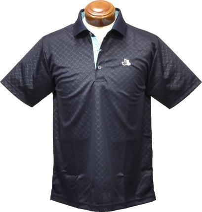 【セール】 ブラックアンドホワイト 半袖ポロシャツ メンズ B9708GSXG 【L】