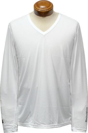 ブラック&ホワイト アンダーシャツ メンズ BGS6819XZ 【M/L/LL】