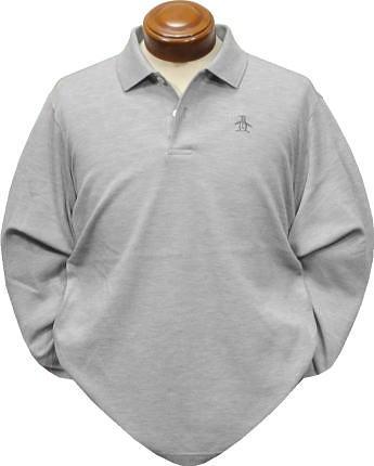 マンシングウェア 長袖ポロシャツ メンズ MGMOGB01 長袖シャツ 【M/L/LL/3L】
