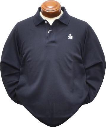 マンシングウェア 長袖ポロシャツ メンズ MGMOGB01 長袖シャツ 日本製 LL