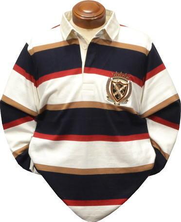 マクレガー メンズ 長袖ラガーシャツ 111619601 【M/L/LL】