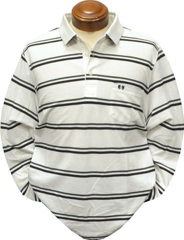 セール マクレガー メンズ 長袖ポロシャツ 111619602 M/L/LL