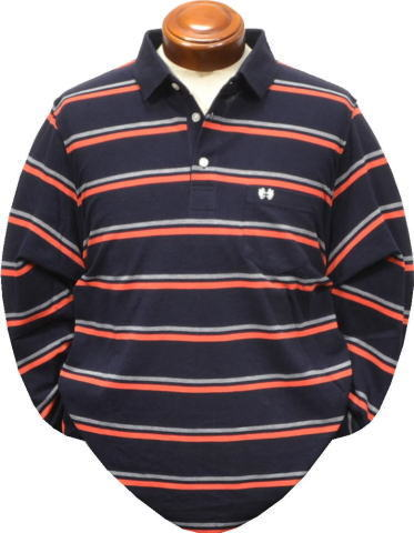 マグレガー メンズ 長袖ポロシャツ 111619602 L