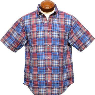 セール マックレガー ボタンダウン半袖シャツ 紳士 111160302 M/L/LL