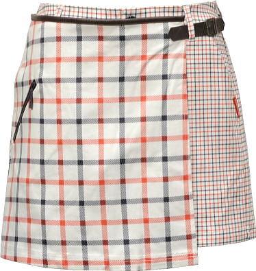 ルコックゴルフ 巻きスカート付ショートパンツ レディース QGWMJD50W 【9/11/13】