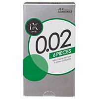 iX(イクス) 0.02 1000(6個入)【コンドーム】×120個