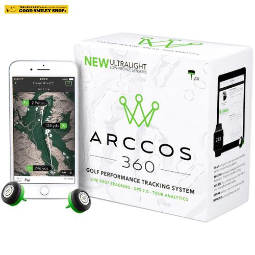 アーコスゴルフ Arccos Golf Arccos 360 ゴルフ ショット ハンディキャップ 管理 飛距離 記録