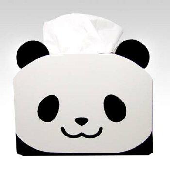 【50箱セット】 うちの子ぱんだの TISSUE CASE ティッシュ 保湿 清潔 風邪 鼻 パンダ