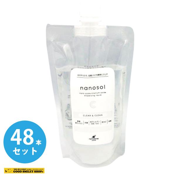 ナノソル CC レフィル 300ml nanosol 詰め替え 48個セット