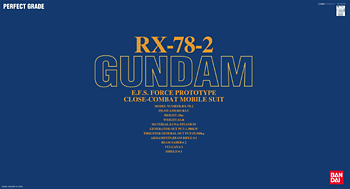 PG 1/60 RX-78-2 ガンダム (機動戦士ガンダム)(再販)【新品】 ガンプラ パーフェクトグレード プラモデル