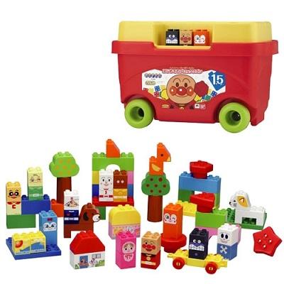 ブロックラボ はじめてのブロックワゴン アンパンマン【新品】 知育玩具 おもちゃ クリスマス プレゼント クリスマス プレゼント