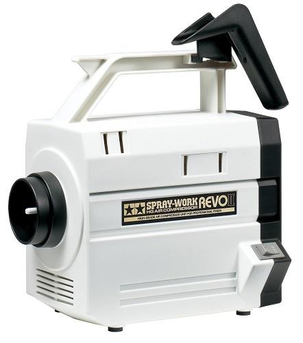 全商品 国内送料込み スプレーワーク HG コンプレッサー 限定モデル レボ 新品 ギフト II タミヤ 74542 エアーブラシシステム