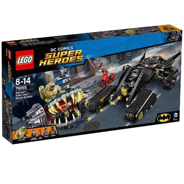 レゴ スーパー・ヒーローズ バットマン:キラークロック 下水道での対決 76055【新品】 LEGO MARVEL 知育玩具