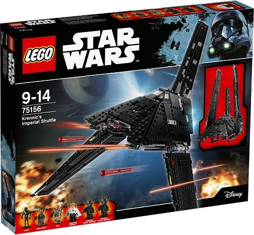 レゴ スター・ウォーズ クレニックのインペリアル・シャトル 75156【新品】 LEGO スターウォーズ 知育玩具