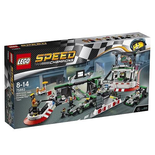 レゴ スピードチャンピオン メルセデスAMG・ペトロナス・フォーミュラワン・チーム 75883【新品】 LEGO 知育玩具