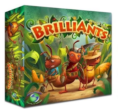 BrilliAnts【並行輸入品】【新品】ボードゲーム アナログゲーム テーブルゲーム ボドゲ
