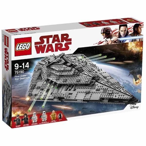 レゴ スター・ウォーズ ファースト・オーダー スター・デストロイヤー™ 75190【新品】 LEGO スターウォーズ 知育玩具