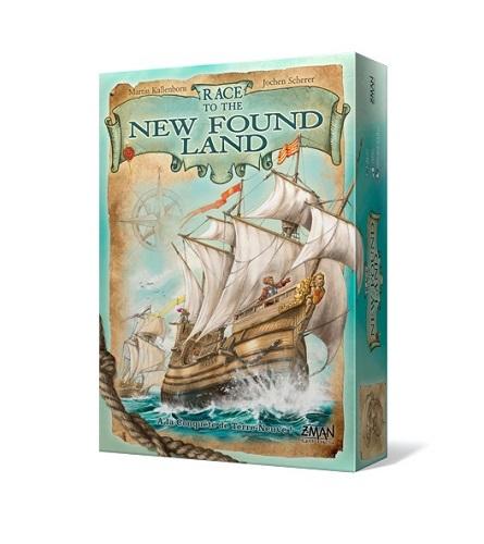 ニューファンドランド(Race to the New Found Land)【メビウスゲームズ】【新品】 ボードゲーム アナログゲーム テーブルゲーム ボドゲ