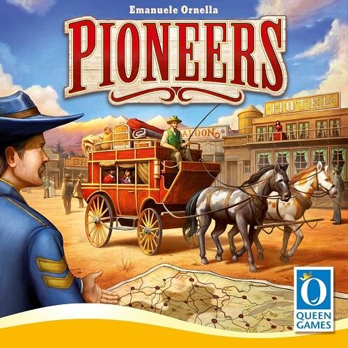 パイオニア(Pioneers)【メビウスゲームズ】【新品】 ボードゲーム アナログゲーム テーブルゲーム ボドゲ