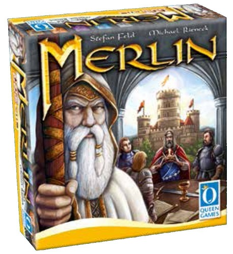 マーリン(Merlin)【メビウスゲームズ】【新品】 ボードゲーム アナログゲーム テーブルゲーム ボドゲ