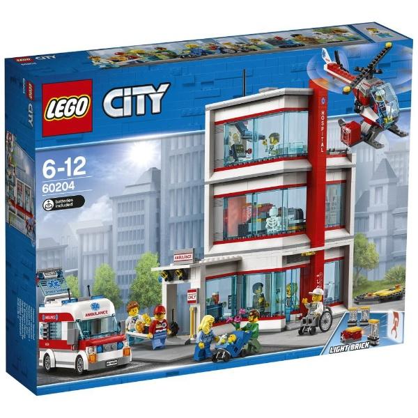 レゴ シティ レゴ(R)シティ病院 60204【新品】 LEGO 知育玩具