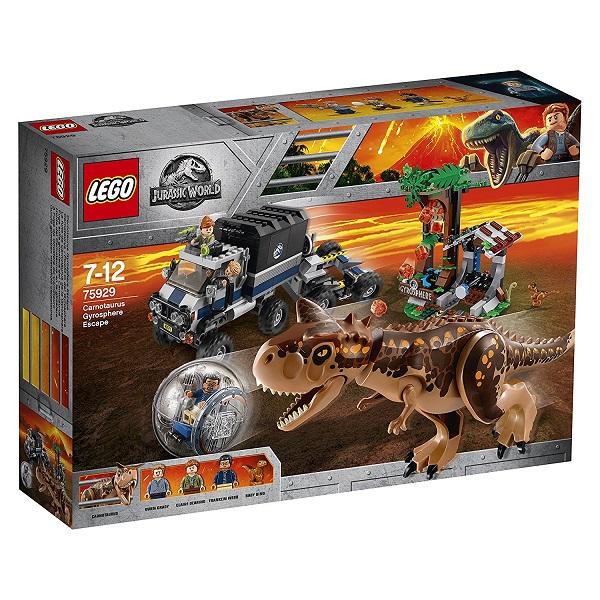 レゴ ジュラシックワールドカルノタウルス対ジャイロスフィア 75929【新品】 LEGO 知育玩具