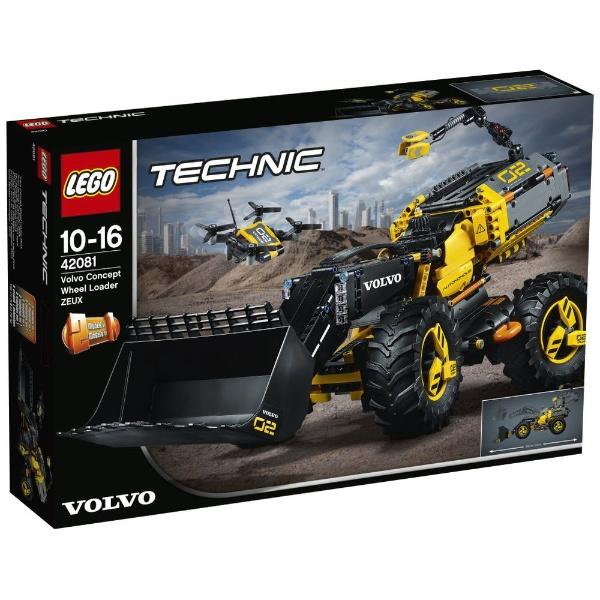レゴ テクニック ボルボ コンセプトホイールローダー ZEUX 42081【新品】 LEGO 知育玩具