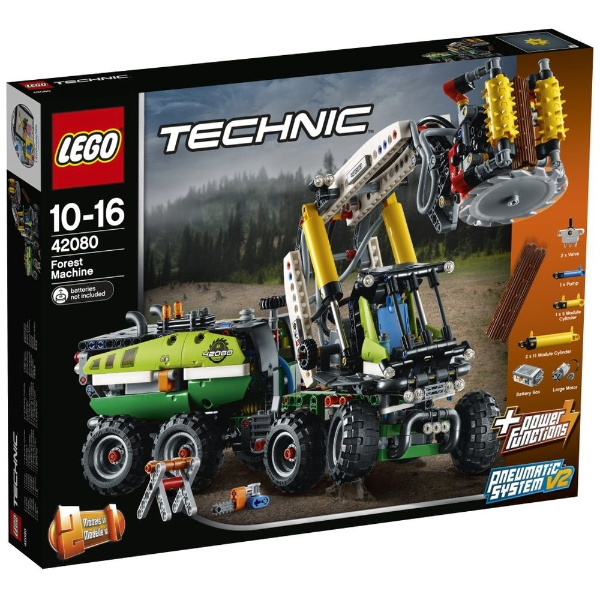 レゴ テクニック 森林作業車 42080【新品】 LEGO 知育玩具