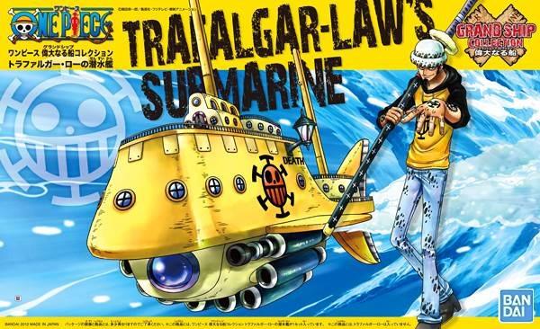 ワンピース偉大なる船コレクショントラファルガー・ローの潜水艦(再販)【新品】ONEPIECEプラモデル