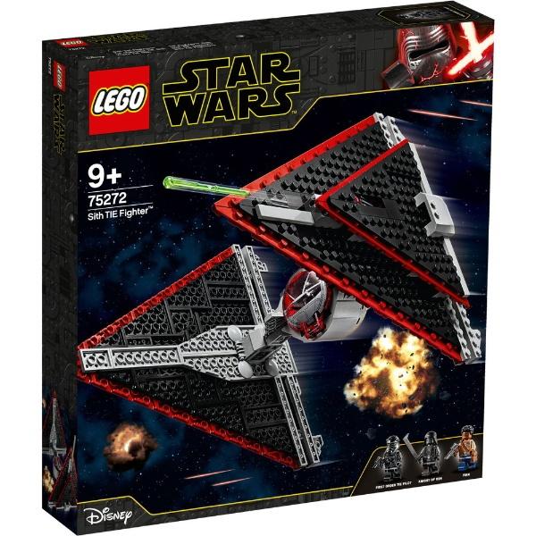 レゴ スター・ウォーズ シスのタイ・ファイター 75272【新品】 LEGO スターウォーズ 知育玩具