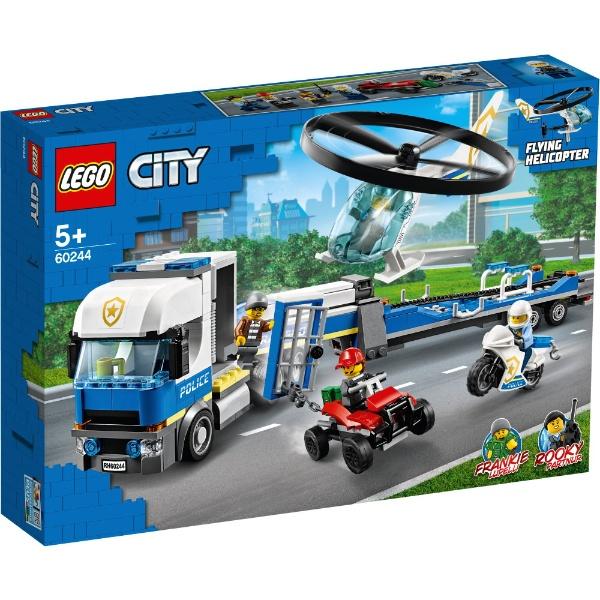 レゴ シティ ポリス ヘリコプターの輸送 60244【新品】 LEGO 知育玩具 クリスマス プレゼント クリスマス プレゼント