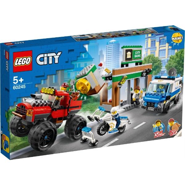 レゴ シティ ポリス モンスタートラック強盗 60245【新品】 LEGO 知育玩具 クリスマス プレゼント クリスマス プレゼント