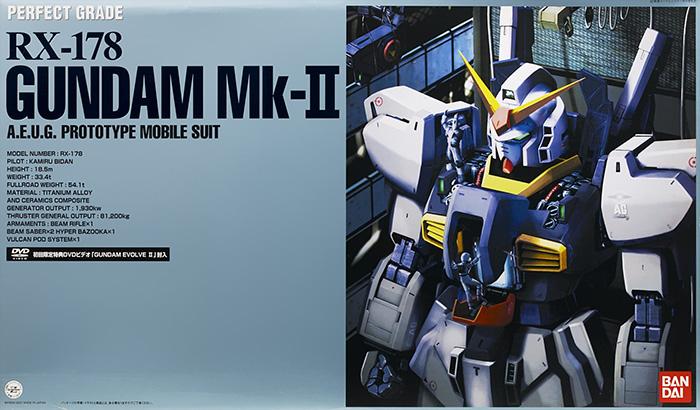 PG 1/60 RX-178 ガンダムMk-II (エゥーゴカラー) (機動戦士Zガンダム)(再販)【新品】 ガンプラ パーフェクトグレード プラモデル